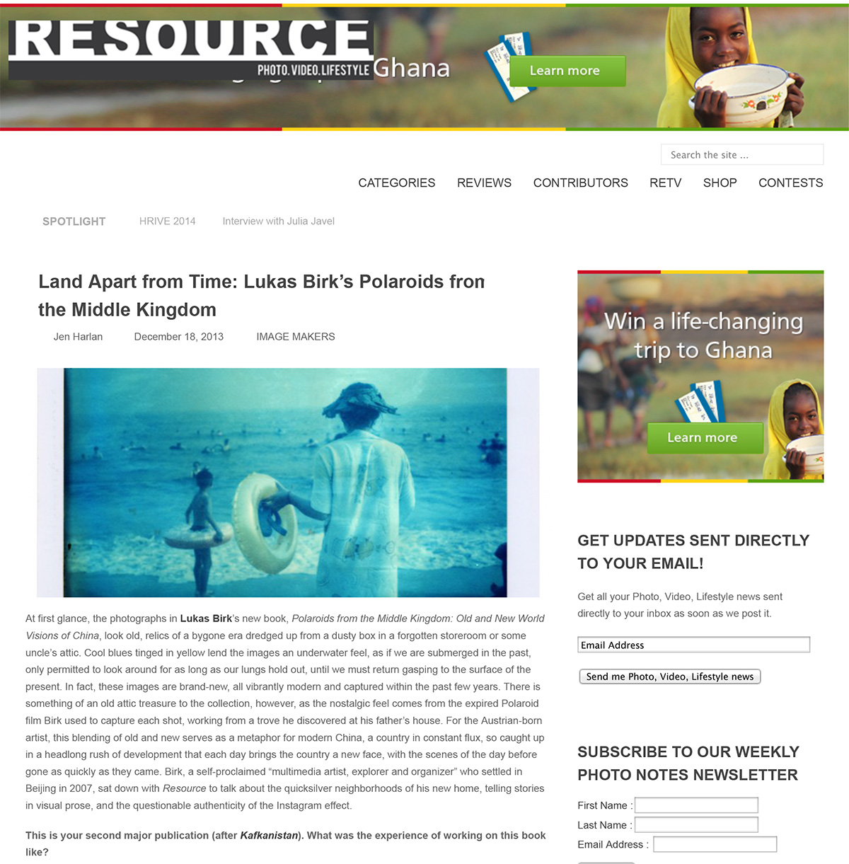 Resource Magazin
